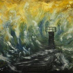 Tempestad en el mar.
