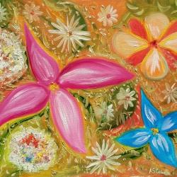 flowers stars
