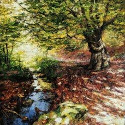 Irati jungle. Original paintings by hand