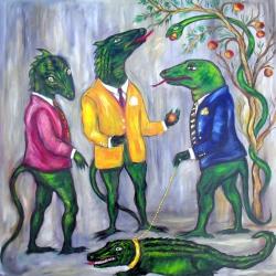 Reptilianos del S. XXI