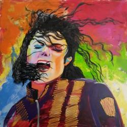 Retrato Michael Jackson