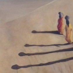 Por el desierto