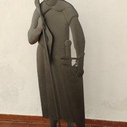Escultura Soldado lancero