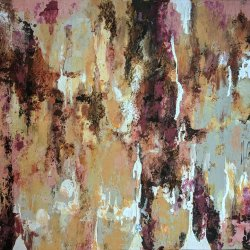 Lyra. Modern abstract landscape paintings for living room