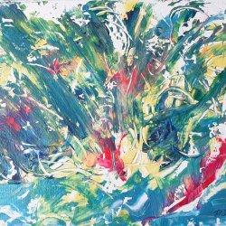 """""""Tropical storm"""", 40x30 cm, 60 euros"""