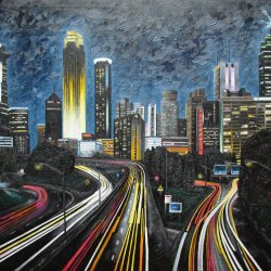 Neon metropolis