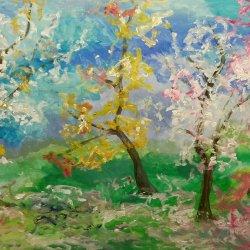 Floración en los árboles
