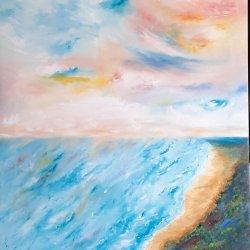 """""""Colorful sky"""", 80x60, 180 euros"""