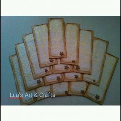 Beautiful handmade bookmarks