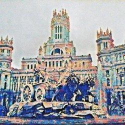 Impressionist Cibeles