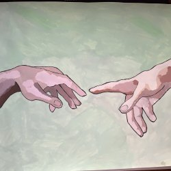 Creation hands