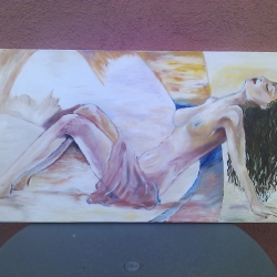 Desnuda, impresionismo