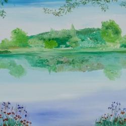 El lago de las flores