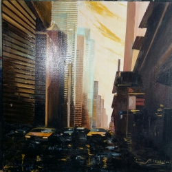 2016-03-15 14.58.48 Oil Paint, 60x60 night view and New York 2.500 € .jpg