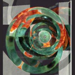 Firing Green Eyes Spiral