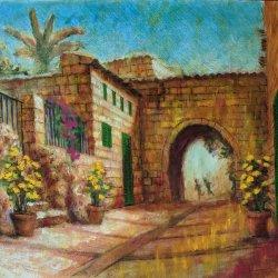Ariany. Pueblo de Mallorca. Cuadros originales online