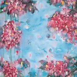 """Jardín florido 01"","