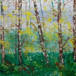 Encuentro de un bosque