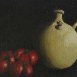 Still life tomatoes