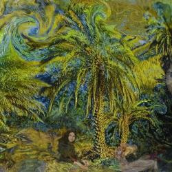 Palm Grove by Marian Gaztel