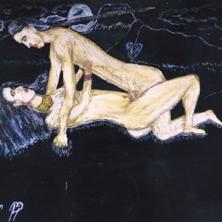 INDIGENAS DE OTAVALO AMANDOCE IN THE NIGHT OF THE MOON FULL