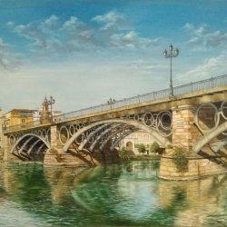 Óleo Puente de triana (Sevilla) 120x60.jpg