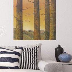 Pines at nightfall