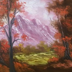 My destiny ... Painting, oil ... FREE SHIPPING