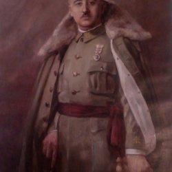 Retrato de Franco decada de los 30