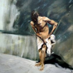 Study of a painting by Mariano Fortuny