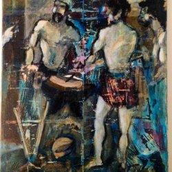 Interpretación Expresionista de La Fragua de Vulcano.