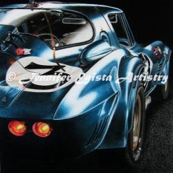 Corvette Grand Sport Coupe Lightweight 1963.