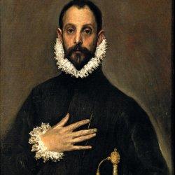 Replica: El caballero de la mano en el pecho