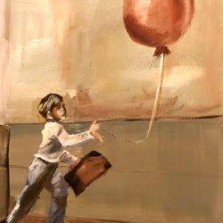El niño del globo