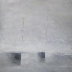 Los barcos en la niebla