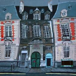 Paris. Ecole Francs Bourgeois.