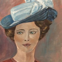 The lady in the hat III