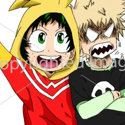 Boku no hero - Deku & Kachan kids
