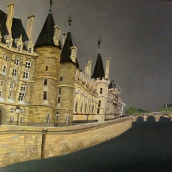 Paris. The Conciergerie. Ile de la Cité.