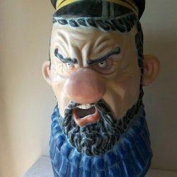 Big-headed captain