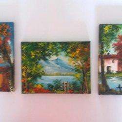 3 small original pictures.