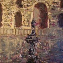 Fuente de Mercurio de los Alcázares de Sevilla