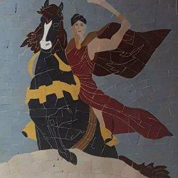 Mounted warrior