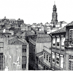 Vista panorâmica do Porto