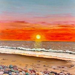 Piedras vivas en el mar muerto