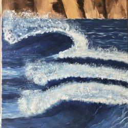 """Visual symphony of waves || """