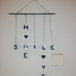 Home, smile and love