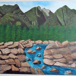 Montañas y rocas