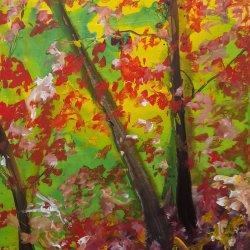 Verdes en el bosque