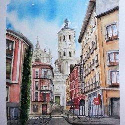 Vista de la Catedral de Valladolid